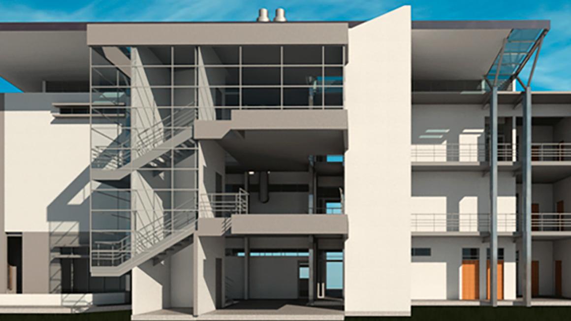 Edificio Anexo para la Escuela de Tecnología de Alimentos
