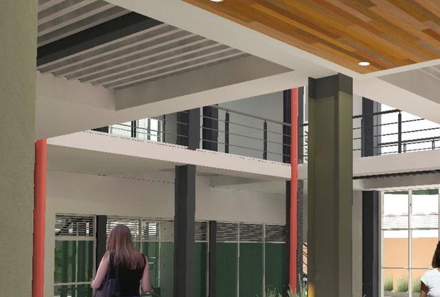 Nuevo edificio de Tecnologías en Salud es amigable con el ambiente