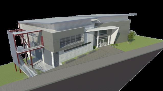 Nuevo edificio del INIFAR
